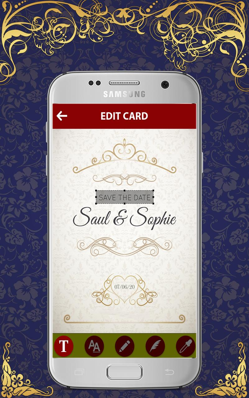 Royal Wedding Invitation Card Maker 2019 For Android Apk