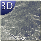 Snow Falling Live Wallpaper 3D icon