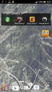 Snow Falling Live Wallpaper 3D screenshot 1