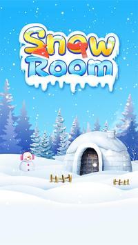 Escape room:snow room poster
