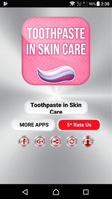 Toothpaste In Skin Care For Android Apk Download