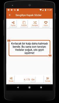 Kapak Sözler screenshot 5