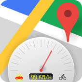GPS Speedometer -Voice navigation-Maps-Directions icon