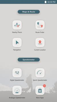 GPS Speedometer -Voice navigation-Maps-Directions screenshot 4