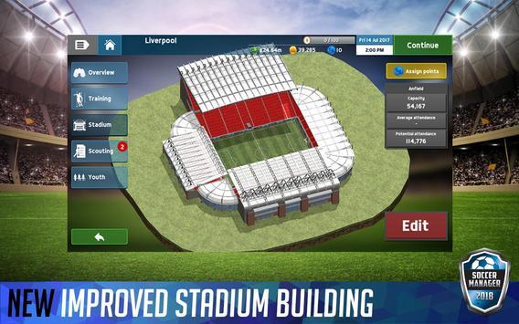 Soccer Manager 2018 screenshot 11