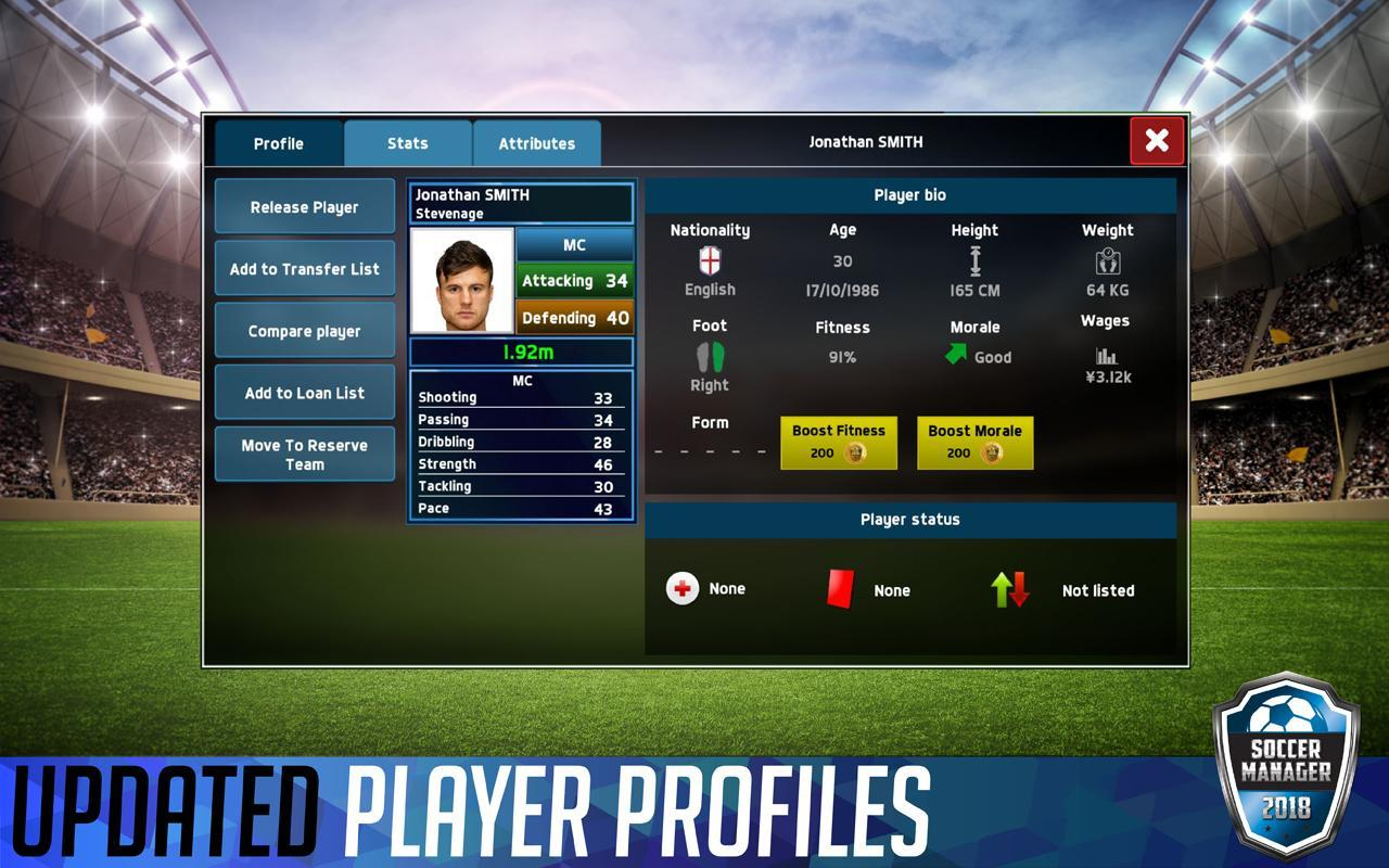 Soccer Manager 2018 for Android - APK Download