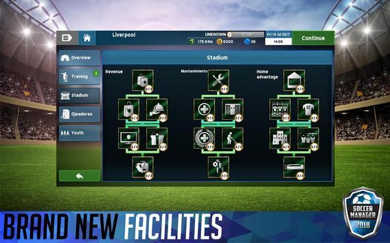 Soccer Manager 2018 screenshot 3