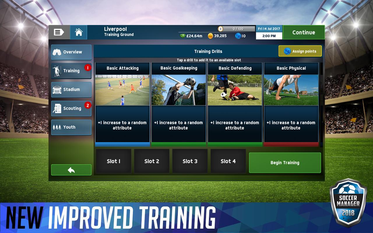 Soccer Manager 2018 For Android Apk Download