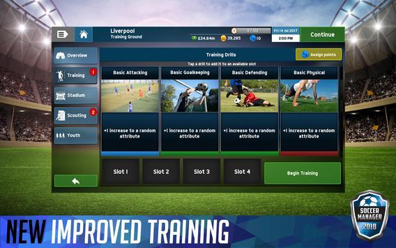 Soccer Manager 2018 screenshot 4
