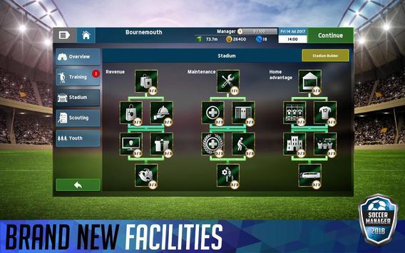 Soccer Manager 2018 screenshot 9