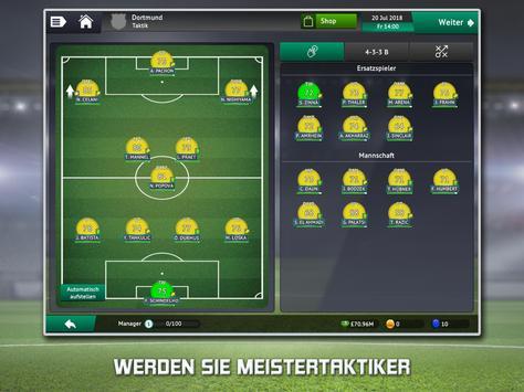 Soccer Manager 2019 - Fußball-Manager-Spiel Screenshot 12