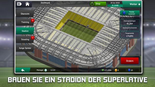 Soccer Manager 2019 - Fußball-Manager-Spiel Screenshot 1