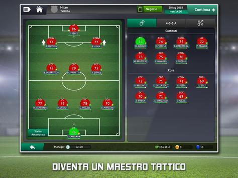 12 Schermata Soccer Manager 2019 - Gioco di Calcio Manageriale