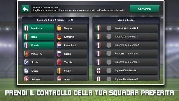 4 Schermata Soccer Manager 2019 - Gioco di Calcio Manageriale