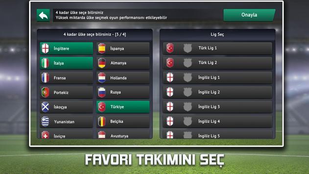 Soccer Manager 2019 - Futbol Menajer Oyunu Ekran Görüntüsü 4