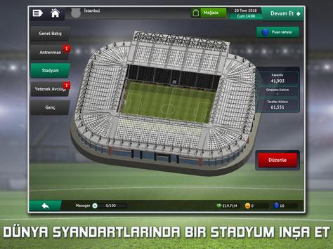 Soccer Manager 2019 - Futbol Menajer Oyunu Ekran Görüntüsü 6