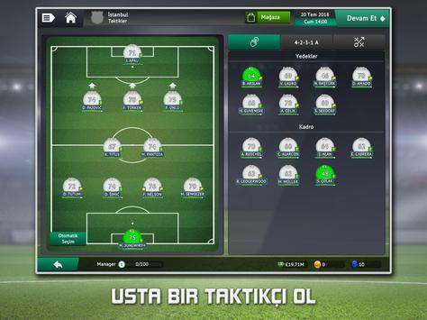 Soccer Manager 2019 - Futbol Menajer Oyunu Ekran Görüntüsü 7