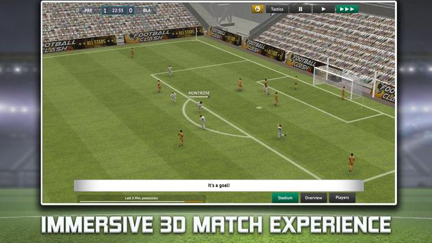 Soccer Manager 2019 - Top Football Management Game पोस्टर