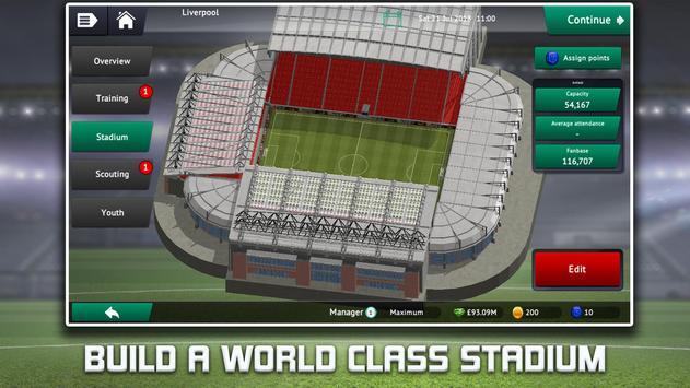 Soccer Manager 2019 screenshot 1