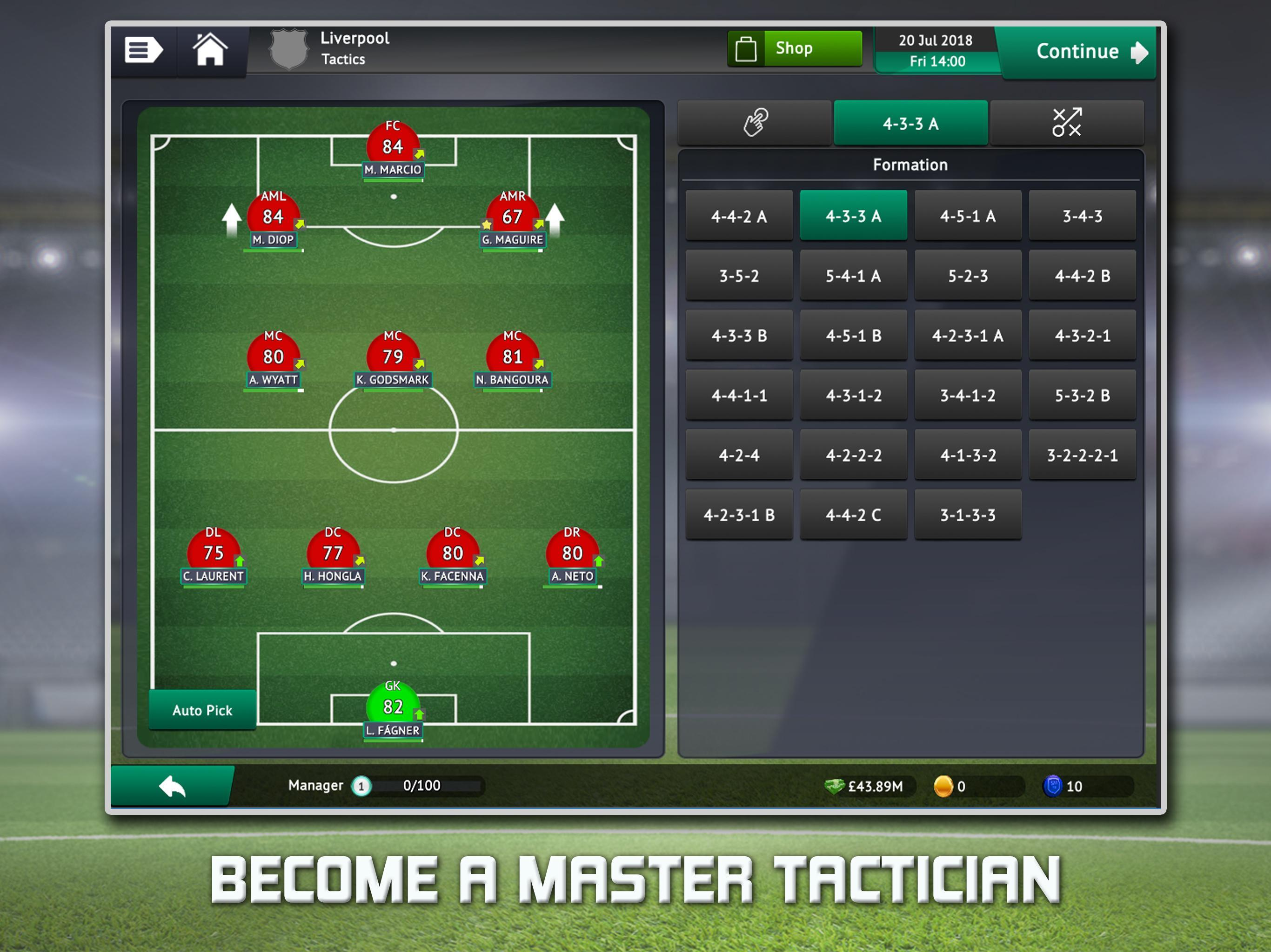 Soccer Manager 2019 Top Football Management Game For