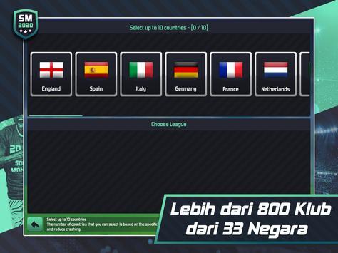 Soccer Manager 2020 - Game Manajemen Sepak Bola screenshot 14