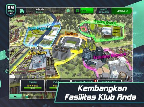 Soccer Manager 2020 - Game Manajemen Sepak Bola screenshot 16