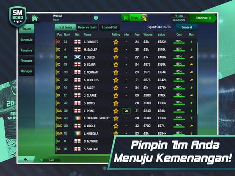 Soccer Manager 2020 - Game Manajemen Sepak Bola screenshot 17