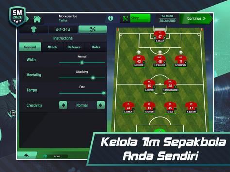Soccer Manager 2020 - Game Manajemen Sepak Bola screenshot 13