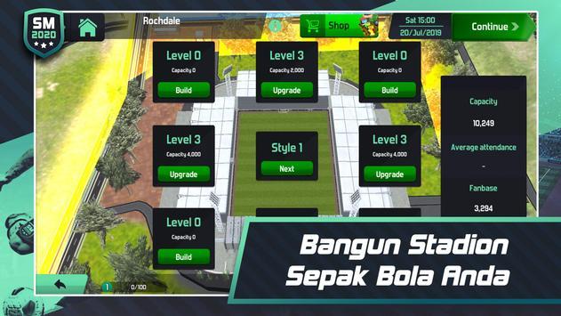 Soccer Manager 2020 - Game Manajemen Sepak Bola screenshot 3