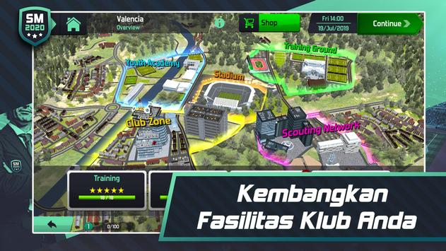 Soccer Manager 2020 - Game Manajemen Sepak Bola screenshot 4