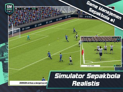 Soccer Manager 2020 - Game Manajemen Sepak Bola screenshot 6