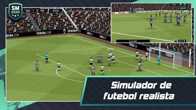 Soccer Manager 2020 - Jogos de Futebol Online Cartaz