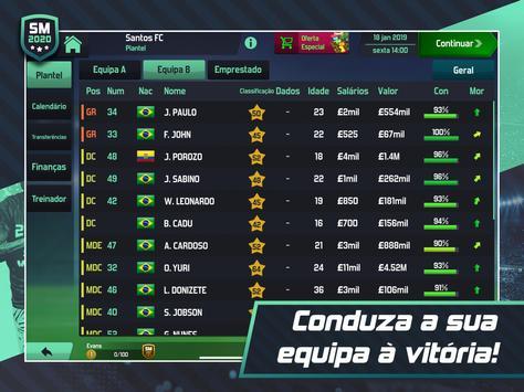 Soccer Manager 2020 - Jogos de Futebol Online imagem de tela 17