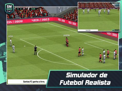 Soccer Manager 2020 - Jogos de Futebol Online imagem de tela 12