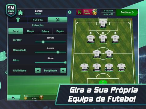 Soccer Manager 2020 - Jogos de Futebol Online imagem de tela 13