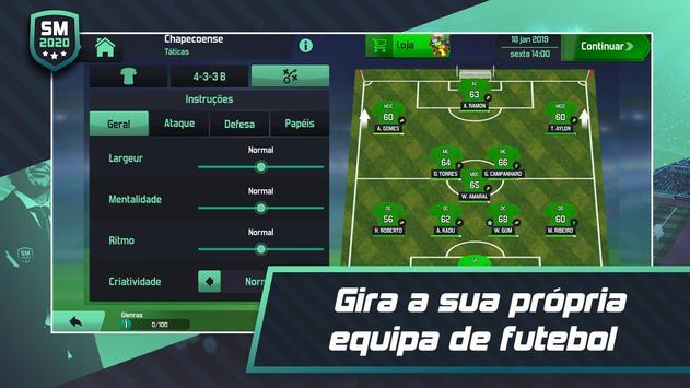 Soccer Manager 2020 - Jogos de Futebol Online imagem de tela 1