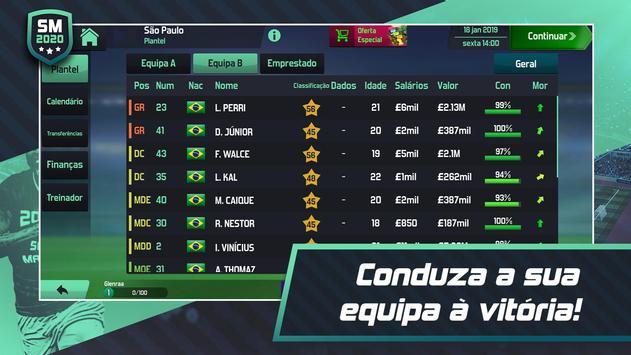 Soccer Manager 2020 - Jogos de Futebol Online imagem de tela 5