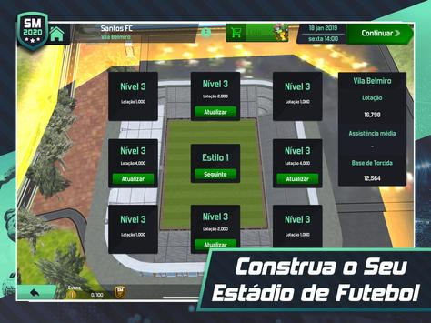 Soccer Manager 2020 - Jogos de Futebol Online imagem de tela 9