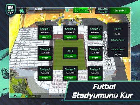 Soccer Manager 2020 - Futbol Menajerlik Oyunu Ekran Görüntüsü 15