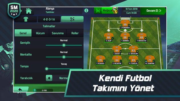 Soccer Manager 2020 - Futbol Menajerlik Oyunu Ekran Görüntüsü 1