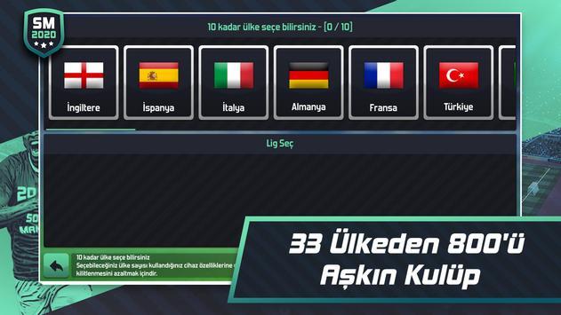 Soccer Manager 2020 - Futbol Menajerlik Oyunu Ekran Görüntüsü 2