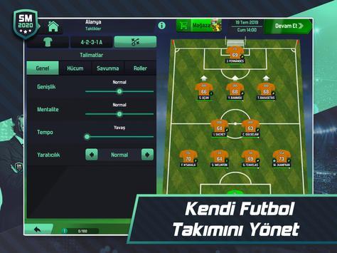 Soccer Manager 2020 - Futbol Menajerlik Oyunu Ekran Görüntüsü 7