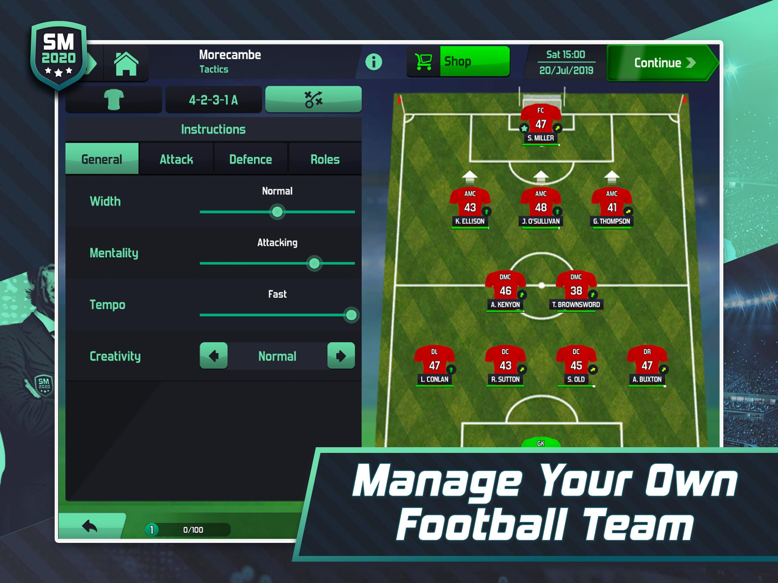 Best Android Rpg 2020.Soccer Manager 2020 Football Management Game For Android