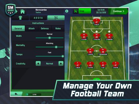 Soccer Manager 2020 - Football Management Game screenshot 7