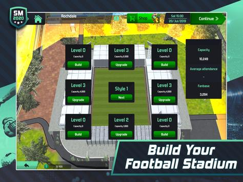 Soccer Manager 2020 - Football Management Game screenshot 9