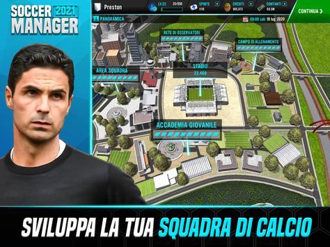 12 Schermata Soccer Manager 2021 - Gioco di gestione calcio