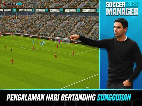 Soccer Manager 2021 - Game Manajemen Sepak Bola screenshot 10