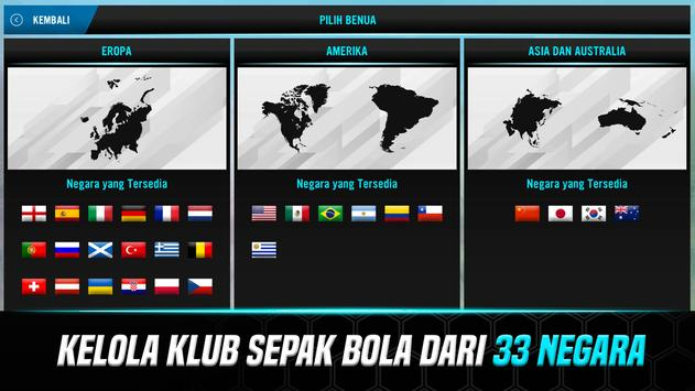 Soccer Manager 2021 - Game Manajemen Sepak Bola screenshot 1