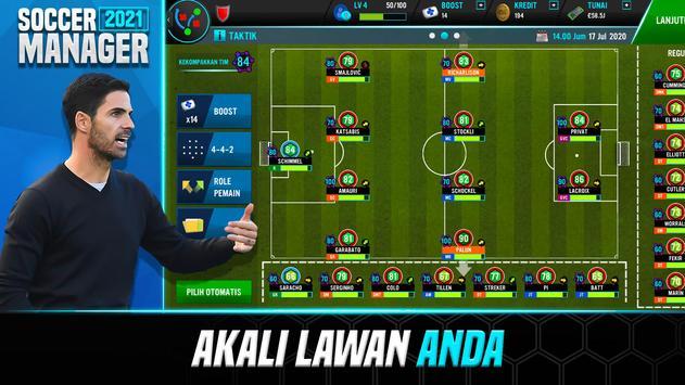 Soccer Manager 2021 - Game Manajemen Sepak Bola screenshot 4