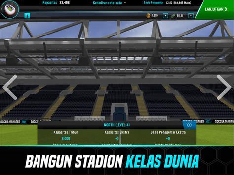 Soccer Manager 2021 - Game Manajemen Sepak Bola screenshot 8